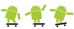 Logotipo del sistema operativo Android de Google.