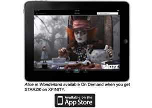 La app para iPad de Comcast