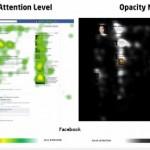 La imagen muestra el resultado de la aplñicación de eyetracking en sitios de redes sociales