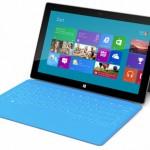 La imagen muestra el nuevo tablet Microsoft Surface