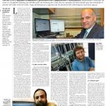La página del reportaje en Vida Actual de El Mercurio
