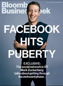 Mark Zuckerberg en la portada de la última edición de Bloomberg Businessweek