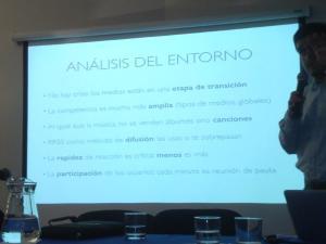 La imagen muestra las conclusiones del trabajo de Christian Leal en Bio Bio