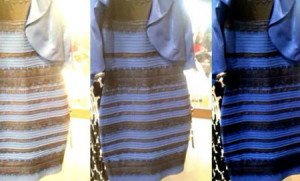 Vestido de muchos colores